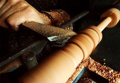 Torneado de madera